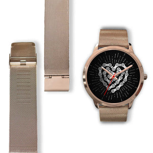 Chain Linked Heart - Rose Gold