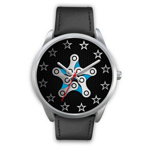 Chain Star Silver Watch