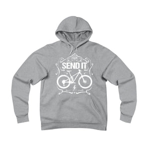 Vintage SEND IT Fleece Hoodie