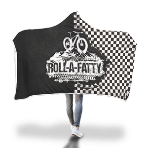 Roll-A-Fatty Hooded Blanket