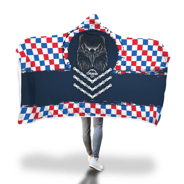 RWB Eagle Emblem Hooded Blanket
