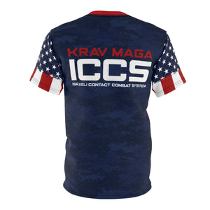 ICCS USA Krav Maga RWB Training Tee