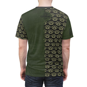 Brass Knuckle Military Green MTB Jersey