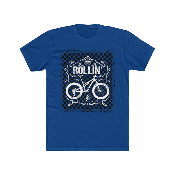 Men's Vintage Rollin Blue Chain/Check Tee