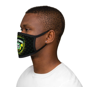 "Thick Strap ""Lightning"" Face Mask"