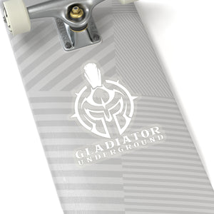 "Gladiator Underground ""White"" Sticker"
