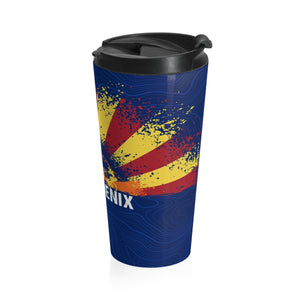 "The Special Edition AZ ""PHX"" Stainless Steel Travel Mug"