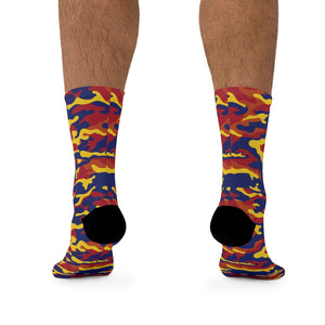 Arizona Camo 3/4 MTB Socks