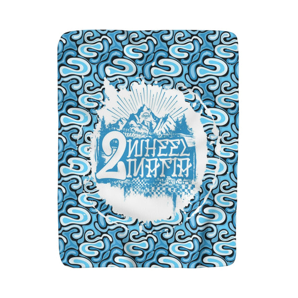 2 Wheel Mafia Sherpa Fleece Blanket
