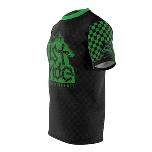 Just Ride MTB Jersey Green/Black Check