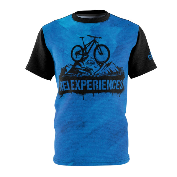 "REI Experiences ""Kevin"" Blue MTB JERSEY"