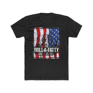 USA American Flag RollaFatty Tee