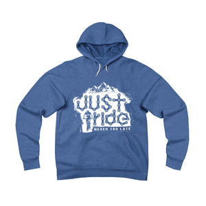 Just Ride Fleece Unisex Pullover Hoodie