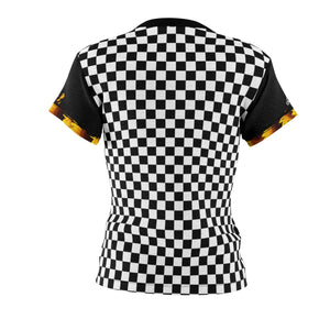 Women's Bee Sunflower Checker MTB Jersey