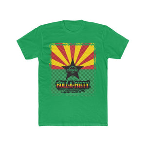 "Men's AZ Rasta Flag ""RollaFatty"" Tee"