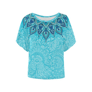 Light Mandala Batwing Shirt