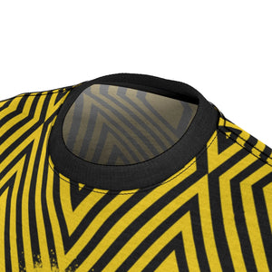 Black & Yellow Pattern MTB Jersey