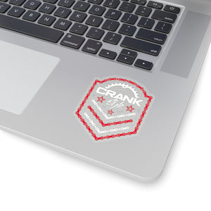 CS Emblem Red/White Sticker