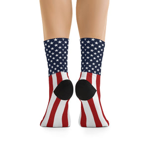 American Flag 3/4 MTB Socks