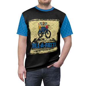 RollaFatty New Jersey State Flag Chain  MTB Jersey