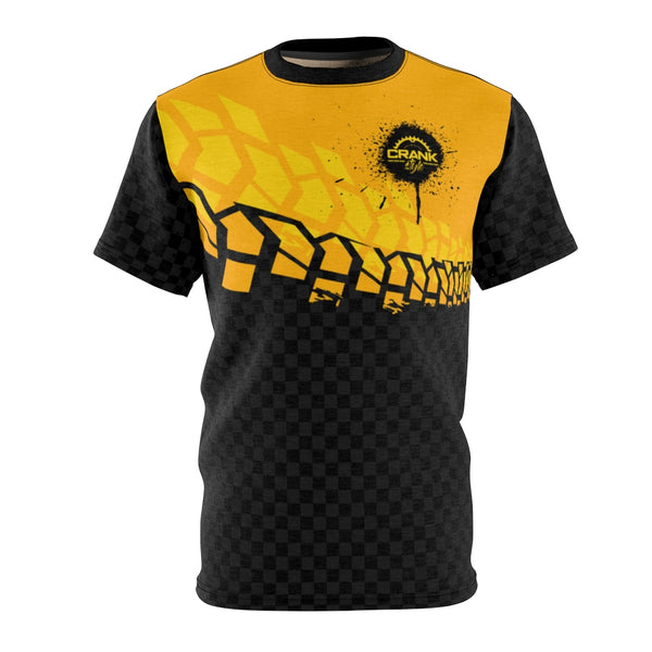 Black & Yelo Tire Check MTB JERSEY