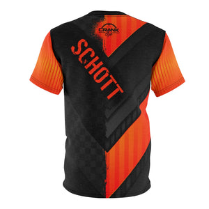 B. Schott Black & Orange MTB Jersey