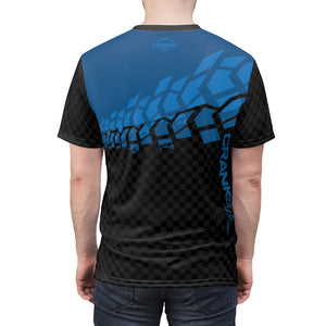 Black & Blue Tire Check MTB JERSEY