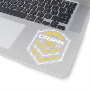 CS Emblem Yeller/White Sticker