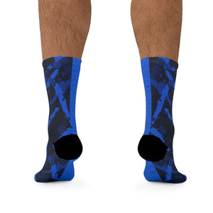 Morpheus Wraps Light Blue Socks
