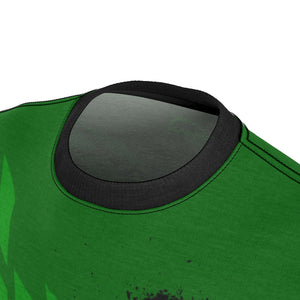 Black & Green Tire Check MTB JERSEY