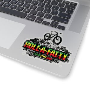 Rasta RollaFatty Sticker