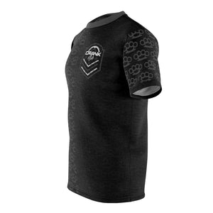 B Schott Brass Knuckle Black & Grey MTB Jersey