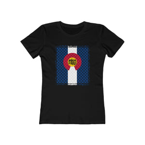 Women's Colorado Check Tee