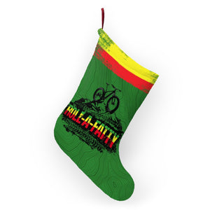 Rasta RollaFatty MTB Topographic Christmas Stocking