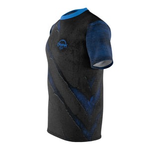 "Scratched Metal ""Blue"" MTB Jersey"