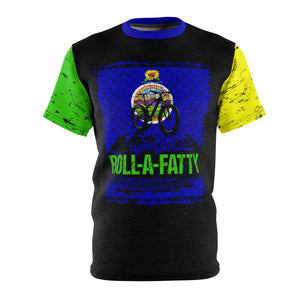 Crank Styles, rollafatty revolution continues with the Kansas Mountain bike Fat tire bike Jersey. Kansas State flag and associated colors. Right Green sleeve and left yellow sleeve. You will not want to leave home without it. Drifit breathable microfiber fabric available in 4 and 6 ounce.