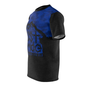 Just Ride Blk & Blu Camo DriFit