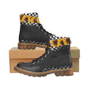 Sunflower BW Checker Boots