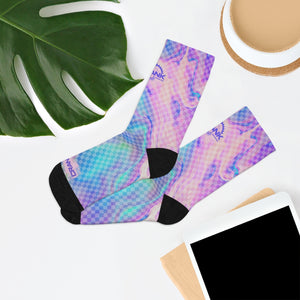 Gracie Fantasy Pattern 3/4 MTB Socks