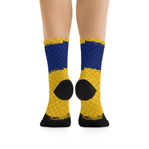 New Hampshire Checker 3/4 MTB Socks