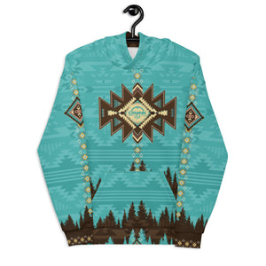 Crank Style's Southwest Aztec style Hoodie. This hoddie is unisex and super comfy inside and out. You will love to hike, mtb or camp in this fleece hoodie. Crank Style gives you the confidence to crank in style. Arizona, Utah, California, New Mexico, Colorado and Nevada will love this style. Great Holiday gif ideas..