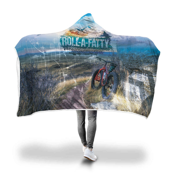 Roll-A-Fatty II Hooded Blanket