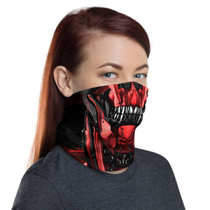unisex, Cyber skull face mask with tenicals coming out of the head. this face mask can be worn for cycling, mountain biking, snowboarding and hiking. Protecting you from the elements in style, crank style. Covid19