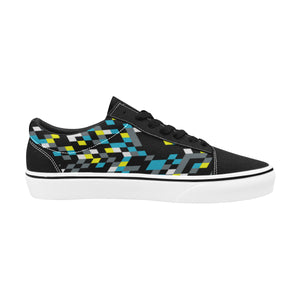 The Funk III Men's Lace-Up Suede/Canvas