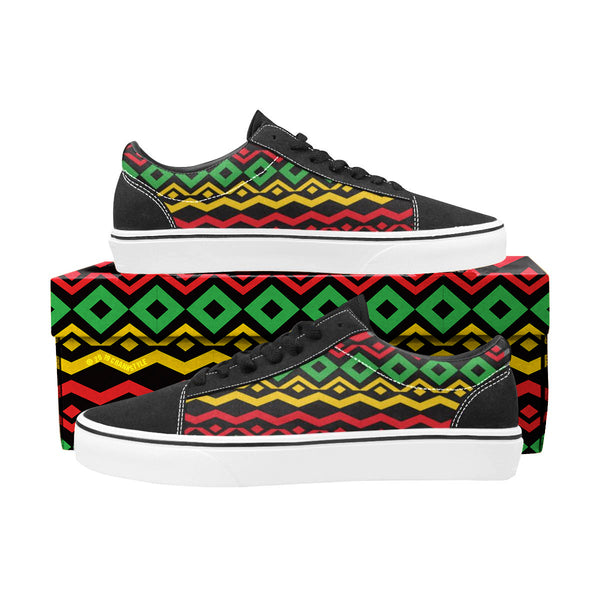 Rasta Men's Lace-Up Suede/Canvas
