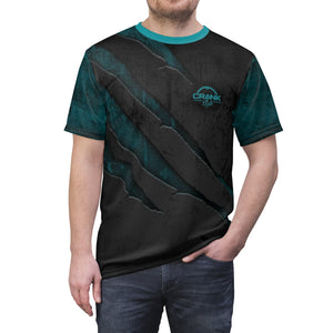 "Scratched Metal ""Teal"" MTB Jersey"