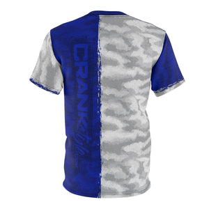 Live 2 Ride Blue & White Camo MTB DriFit