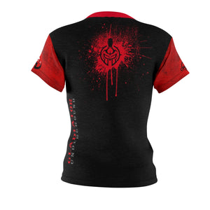 Women's Red GU Logo DriFit Training Tee