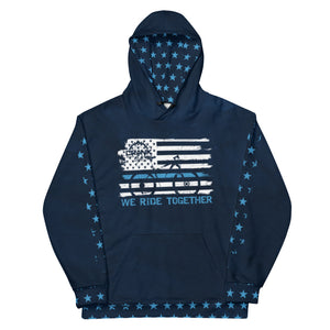 "Blueline ""We Ride Together"" Hoodie"