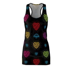 Chain Heart Racerback Dress